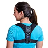 Back Posture Corrector for Women Men and Kids - Comfortable Effective - Neck and Back Brace for Slouching & Hunching - Discreet Design - Clavicle Support for Back Shoulders and Neck