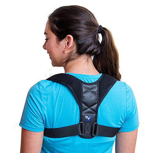 Back Posture Corrector for Women Men and Kids - Comfortable Effective - Neck and Back Brace for Slouching & Hunching - Discreet Design - Clavicle Support for Back Shoulders and Neck by -Virtuoso-