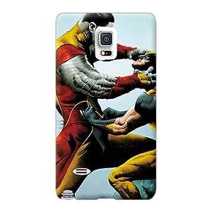 AlainTanielian Samsung Galaxy Note 4 Excellent Hard Phone Case Unique Design Beautiful Colossus V Wolverine Image [cVg3892vFad]