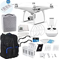 DJI Phantom 4 PRO Quadcopter Ultimate Backpack Bundle Kit