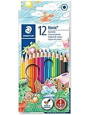 STAEDTLER 144 NC12 ST Noris Club Hexagonal Coloured Pencil (12-Colours)
