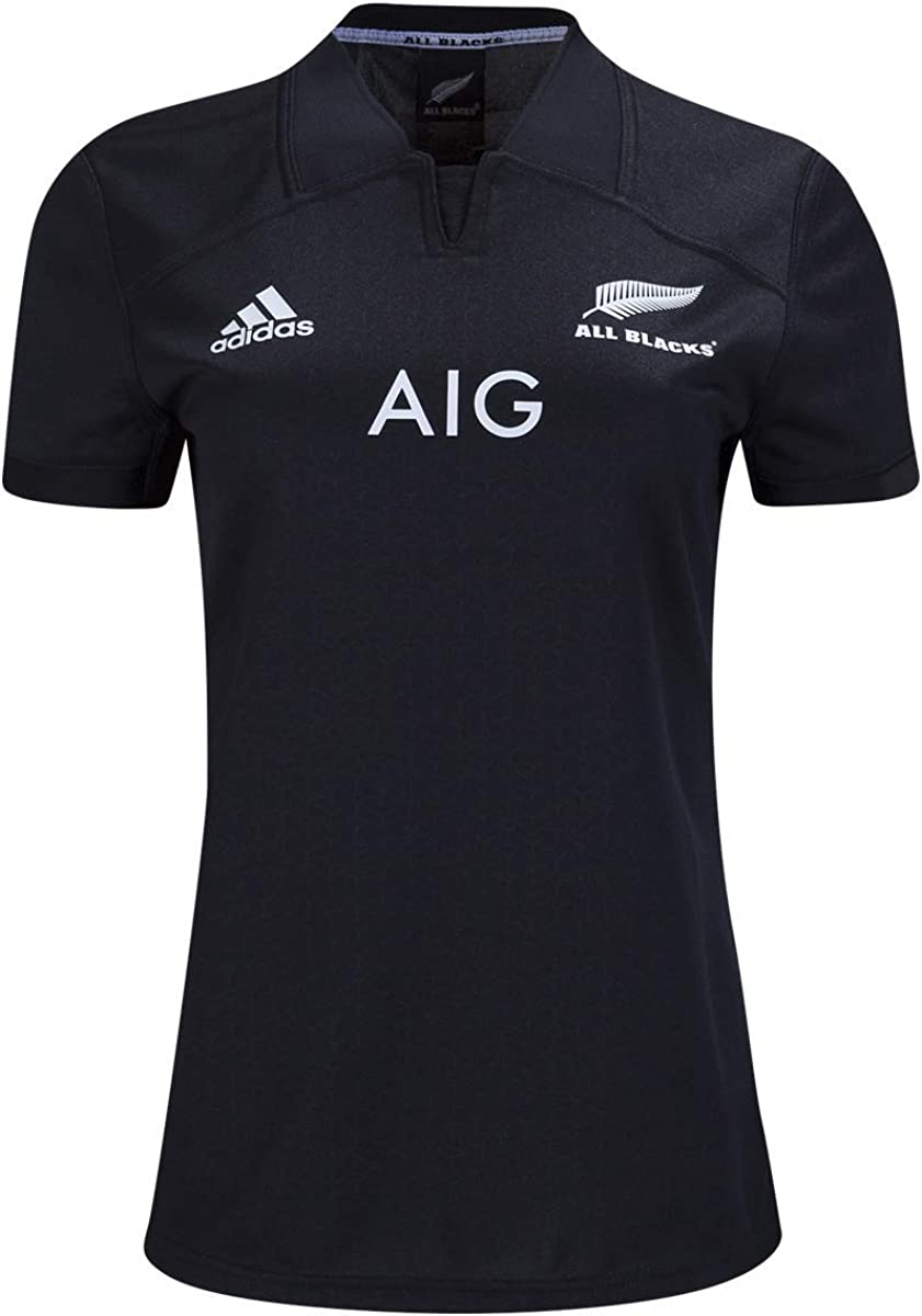 adidas All Blacks Women's Home Rugby Jersey