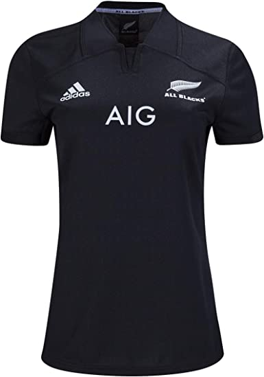 paciente espina Inspiración  Amazon.com: Adidas All Blacks - Camiseta de rugby para mujer: Clothing
