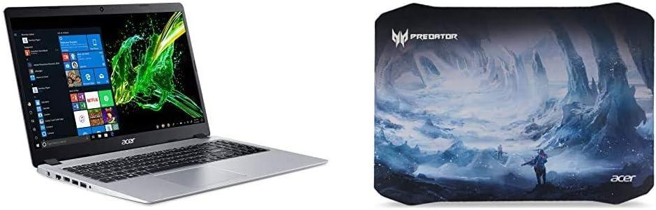 "Acer Aspire 5 Slim Laptop, 15.6"" Full HD IPS Display, AMD Ryzen 5 3500U with Acer Predator Ice Tunnel Mousepad"