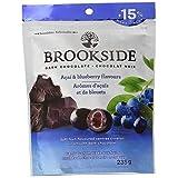 BROOKSIDE Christmas Dark Chocolate, Acai Blueberry, Stocking Stuffer, 235g