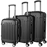 Best Hard Suitcases - PRASACCO Luggage Suitcase Hardside Luggage, 3 Piece Spinner Review