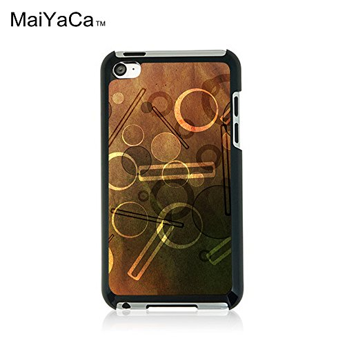 MaiYaCa(TM) M84439 Blueberry Ice Cream Wallpaper Phone Case for ipod touch - Ipod 4 Cream Cases Ice