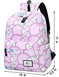 Best EcoCity Cool Backpacks - MRstriver Polka Dot Canvas School Backpack Bag, Cute Review