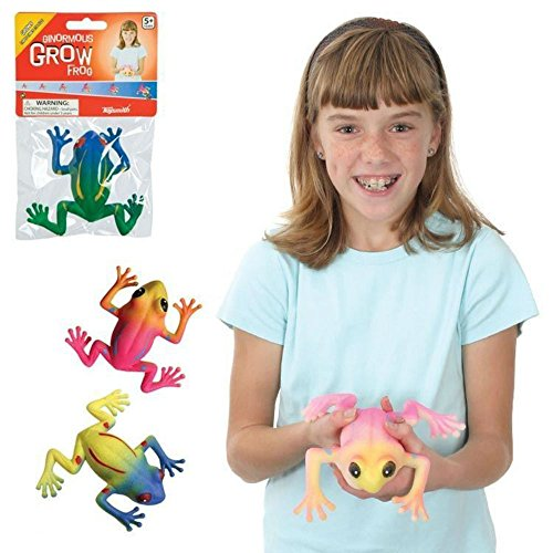Ginormous Grow Frog Grows 3X Size Ages 5+ Science Experiment Educational supply