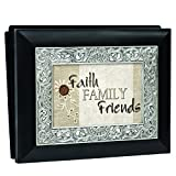 Cottage Garden Moments Black with Silver Accent Photo Album