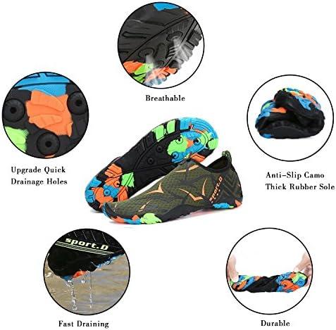 51fkQf34q L. AC Mishansha Mens Womens Water Shoes Quick Dry Barefoot for Swim Diving Surf Aqua Sports Pool Beach Walking Yoga    Product Description