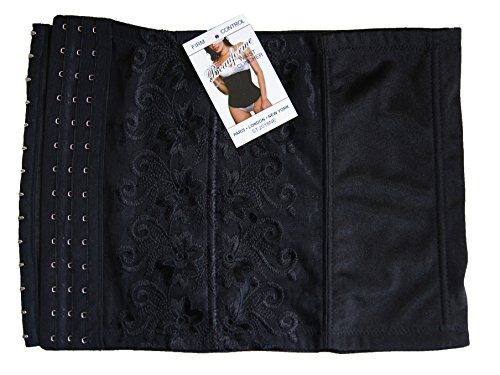 """Mujer Firme Control Cintura Clincher Belly Band Skin & Negro Pequeño A XXXX-Large (Talla 31–�?2"""", negro)"""