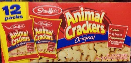 Stauffer's Animal Crackers Original 12 Packs-18 Oz (Pack of 2)