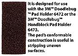 3M Doodlebug Brown Scrub 'N Strip Pad 8541, 4.625