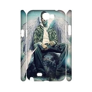 Paul Walker Wholesale DIY 3D Cell Phone Case Cover for Samsung Galaxy Note 2 N7100, Paul Walker Galaxy Note 2 N7100 3D Phone Case