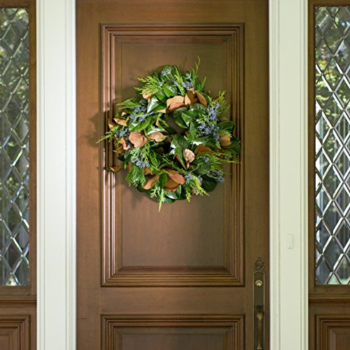 San Francisco Estate Magnolia Wreath - 24 inch