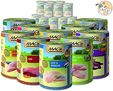 """Mac""""s - Lote de ahorro de alimento húmedo para gatos, 48 latas de ..."""