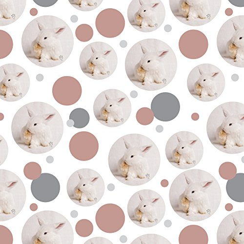 (GRAPHICS & MORE Lop Ears Miniature Bunny Rabbit Premium Gift Wrap Wrapping Paper Roll)
