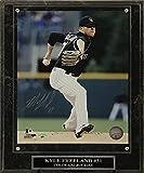 Colorado Rockies Kyle Freeland Signed 8x10 Photo with Plaque (Black Uniform)