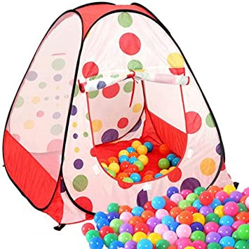 Zuwit Kidu0027 Play Tent House Easy Folding Ball Pit with Carrying Case(Balls Not  sc 1 st  Amazon UK & Zuwit Kidu0027 Play Tent House Easy Folding Ball Pit with Carrying ...
