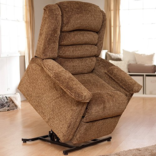 Catnapper Soother 4825 Power Full Lay-Out Lift Chair Recliner with Heat and Massage - Autumn