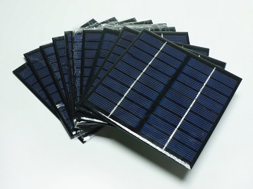 JoyTech 1pc 2w 9v 222ma Mini Solar Panel Module Solar Epoxy Charger DIY