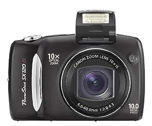 Canon Powershot SX120 IS 10MP Digital Camera (Black)
