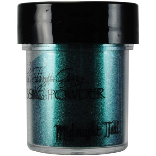 Lindy's Stamp Gang 2-Tone Embossing Powder, 0.5-Ounce, Midnight Teal Obsidian