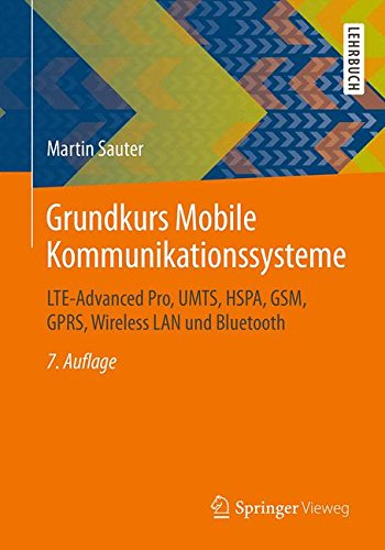 Grundkurs Mobile Kommunikationssysteme: LTE-Advanced Pro, UMTS, HSPA, GSM, GPRS, Wireless LAN und Bluetooth (German Edition) - Edge Mobile Network