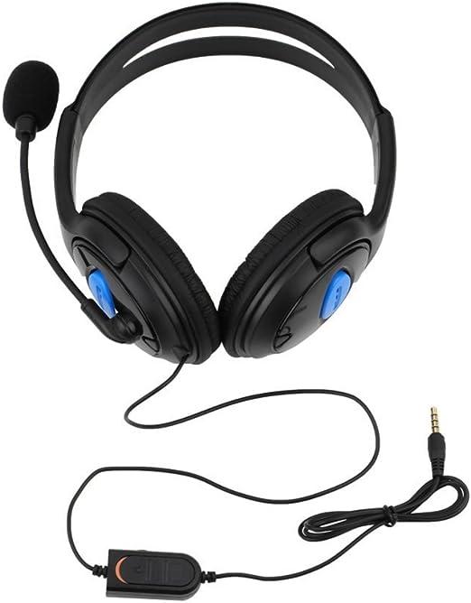 Auriculares con micrófono para Juegos con Cable para Sony PS4 Playstation 4: Amazon.es: Hogar
