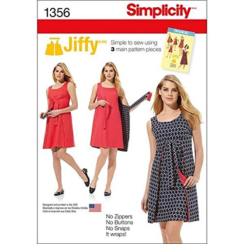 Simplicity Creative Patterns 1356 Misses - Reversible Apron Pattern Shopping Results