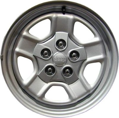 2007-2016 - JEEP - PATRIOT - 16X6.5 - 5-114.3 - 5 SPOKE - FACTORY OEM WHEEL RIM-REMANUFACTURED (Rims For Jeep Patriot)