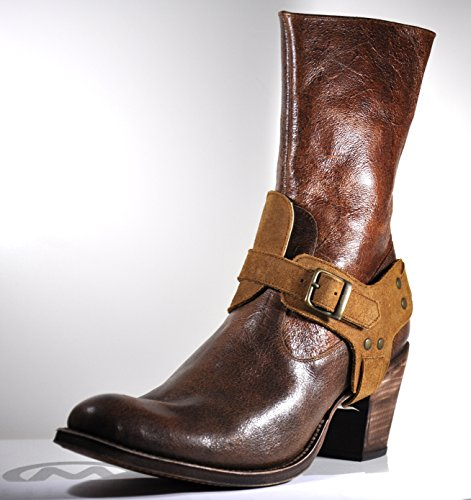 Tony Mora Cowboy Boots Damen Stiefeletten Rusticar Moscade Paris