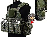 Airsoft Military 1000D Tactical 6094 Style Plate Carrier Vest(6094 Vest + Hydration Pack +2.5 L Hydration Bladder) AOR2