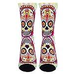 Jinkela English Springer Spaniel Socks, Unisex Fashion Casual Crew Dress Stockings Wedding Gift 8