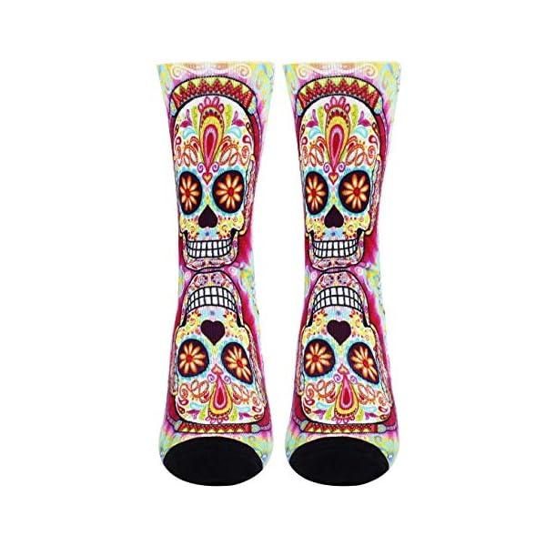 Jinkela English Springer Spaniel Socks, Unisex Fashion Casual Crew Dress Stockings Wedding Gift 3