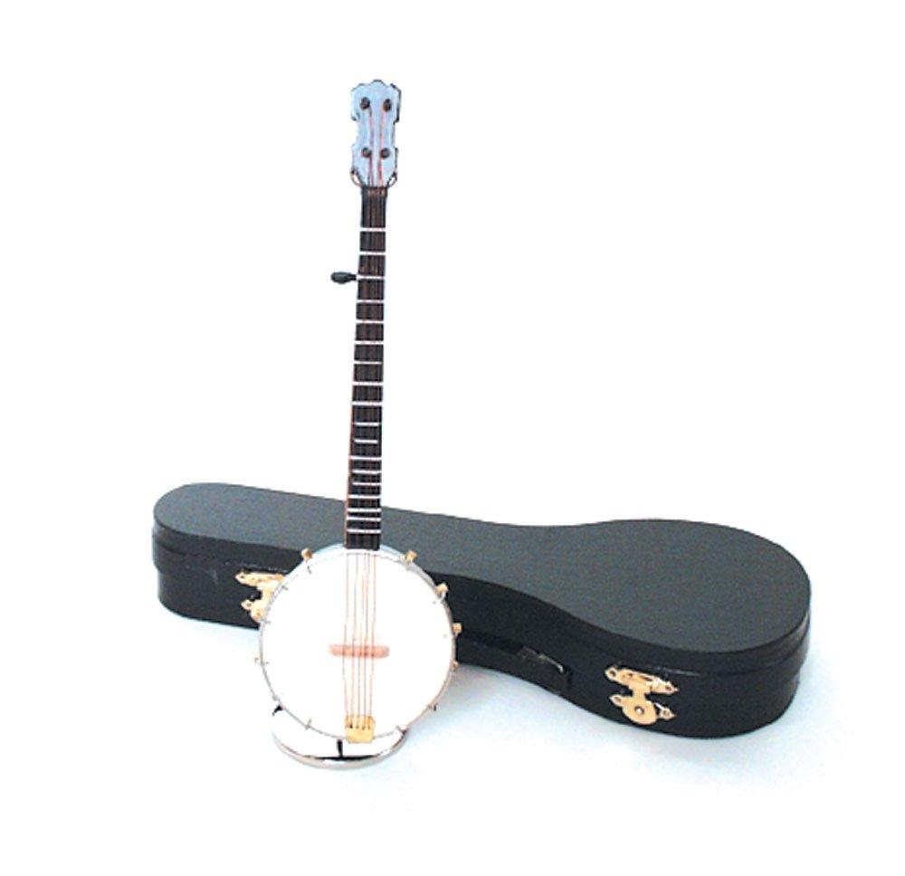 Banjo Miniature Music Box