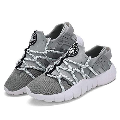 Schuhe Atmungsaktive Lace Exing Mesh Neue Deck Damenschuhe E Freizeitschuhe Light Wanderschuhe up Sohlen Liebhaber Academy Athletic q06qawz