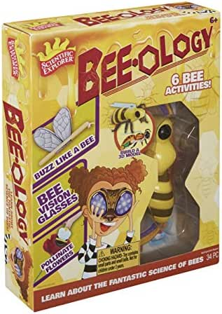 Scientific Explorer Bee-Ology Science Kids Science Experiment Kit