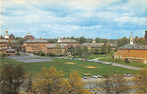 Baltimore Maryland John Hopkins University Pair Of Vintage Postcards V17724