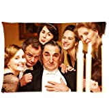 """Downton Abbey Pillowcase Standard Size 20""""x30"""" PWC1900"""