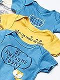 Gerber Baby Boys' 8 Pack Short-Sleeve Onesies