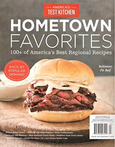 America's Test Kitchen Magazine Hometown Favorites 100+ of America's Best Regional Recipes (2019)