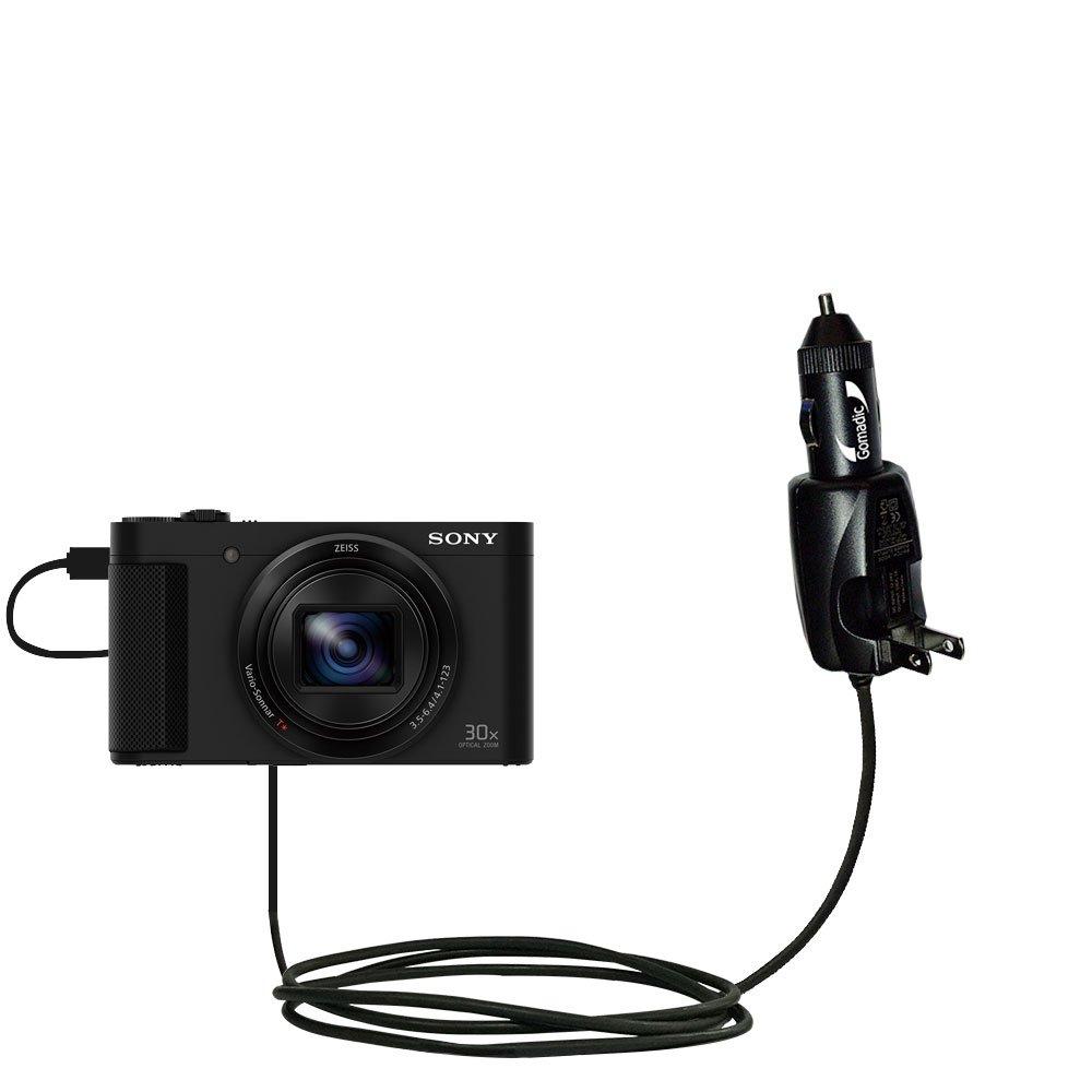 インテリジェントデュアル目的DC Vehicle and ACホーム壁充電器Suitable for Sony hx80 / dsc-hx80 – 2つの重要関数、1つUnique充電器 – Uses GomadicブランドTipExchangeテクノロジー B076KPKPHG