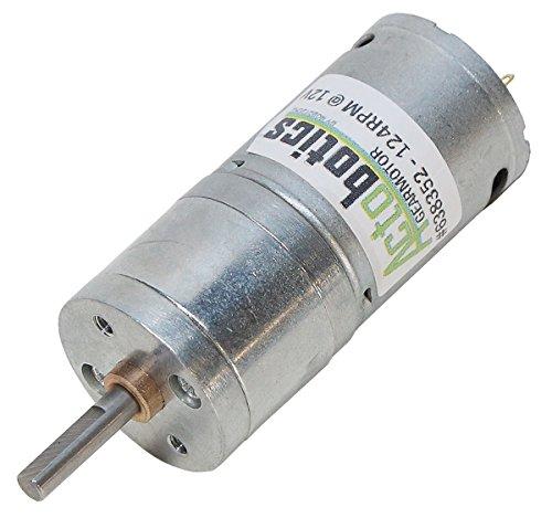 124 RPM 6-18V Econ Gearmotor by Actobotics (Image #1)