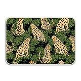 WYFG Indoor Doormat Cheetah Seamless Rustic Entrance Welcome Mat 16X24 Duty Low ProfileFront Door Mat Home Decor