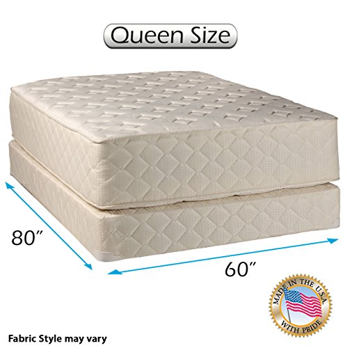 Dream Sleep Highlight Luxury Firm Queen Mattress Set by Dream Solutions USA