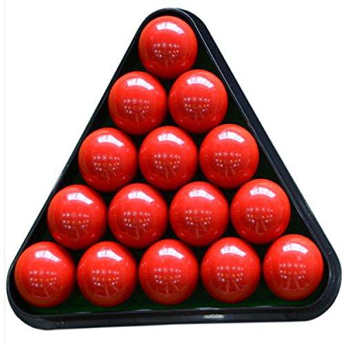 Tutoy 8 Ball Pool Mesa de Billar Rack triángulo Rack de plástico ...