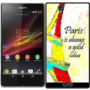 Funda para Sony Xperia Z (l36h) - Paris Siempre Es Una Buena Idea by Brian Raggatt