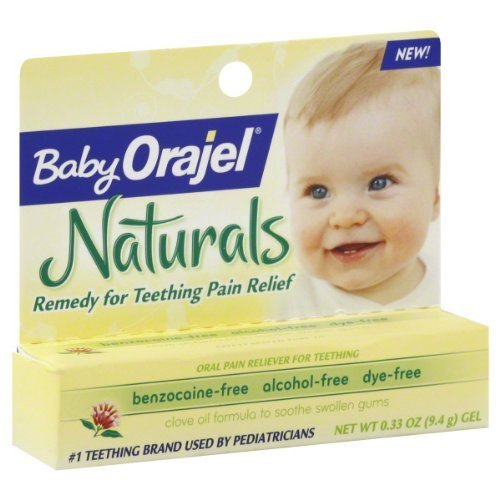 Orajel bébé Orajel Naturals Teething Relief fruits - 0,33 oz Healthcare Personnel / Santé